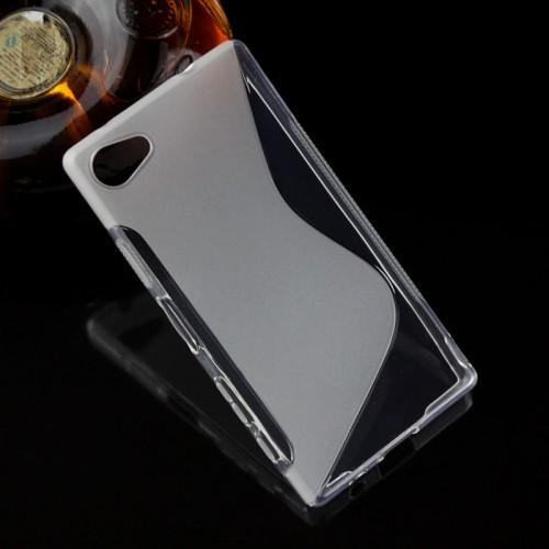 Силиконовый S чехол для Sony Xperia Z5 Compact
