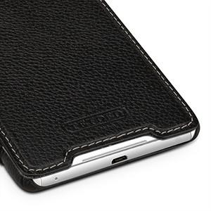 Кожаный чехол горизонтальная книжка (нат. кожа) для Sony Xperia C5 Ultra Dual