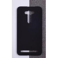 Пластиковый матовый непрозрачный чехол для ASUS Zenfone 2 Laser 5.5 ZE550KL Черный
