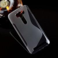 Силиконовый S чехол для ASUS Zenfone 2 Laser 5 ZE500KL Серый
