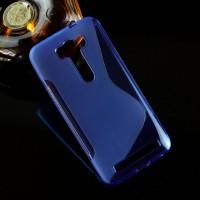 Силиконовый S чехол для ASUS Zenfone 2 Laser 5 ZE500KL Синий