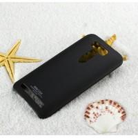 Пластиковый матовый чехол с повышенной шероховатостью для ASUS Zenfone 2 Laser 5 ZE500KL Черный