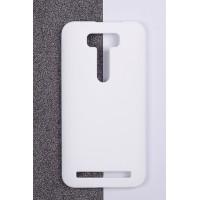 Пластиковый матовый непрозрачный чехол для ASUS Zenfone 2 Laser 5 ZE500KL Белый