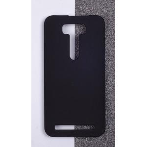 Пластиковый матовый непрозрачный чехол для ASUS Zenfone 2 Laser 5 ZE500KL Черный