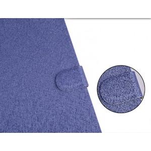 Текстурный чехол флип подставка с застежкой и отделением для карт для ASUS Zenfone 2 Laser 5 ZE500KL
