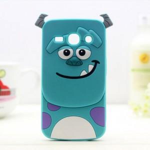 Силиконовый дизайнерский фигурный чехол  для Samsung Galaxy Ace 4