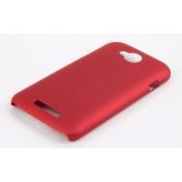 Пластиковый чехол для Lenovo A706 Красный