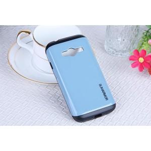 Гибридный чехол с силиконовым каркасом и поликарбонатной накладкой для Samsung Galaxy Ace 4