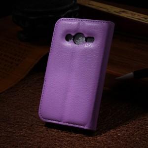 Чехол портмоне подставка с защелкой для Samsung Galaxy Ace 4
