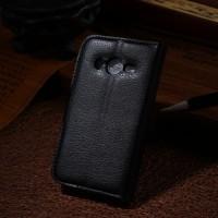 Чехол портмоне подставка с защелкой для Samsung Galaxy Ace 4 Черный