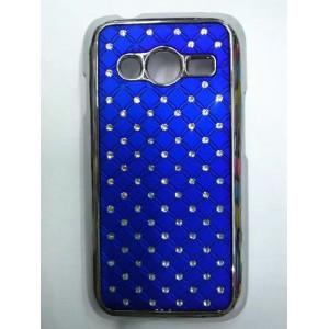 Дизайнерский поликарбонатный чехол со стразами для Samsung Galaxy Ace 4