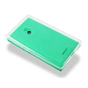 Силиконовый транспарентный чехол для Nokia XL