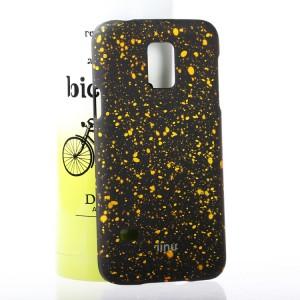 Пластиковый матовый непрозрачный чехол с голографическим принтом Звезды для Samsung Galaxy S5 Mini