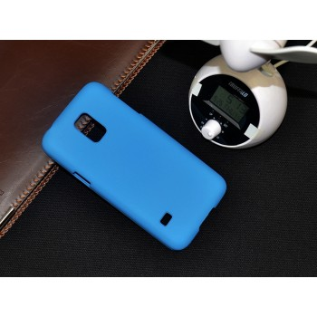 Пластиковый матовый непрозрачный чехол для Samsung Galaxy S5 Mini