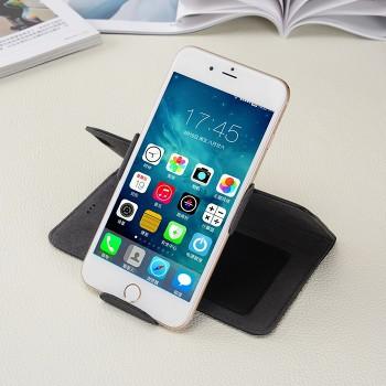 Кожаный чехол горизонтальная книжка подставка роторный с отделением для карт и магнитной застежкой для Iphone 6/6s
