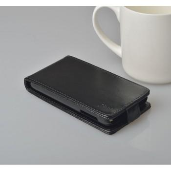 Чехол вертикальная книжка на пластиковой основе с магнитной застежкой для Lenovo P770