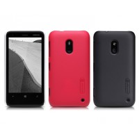 Пластиковый матовый нескользящий премиум чехол для Nokia Lumia 620