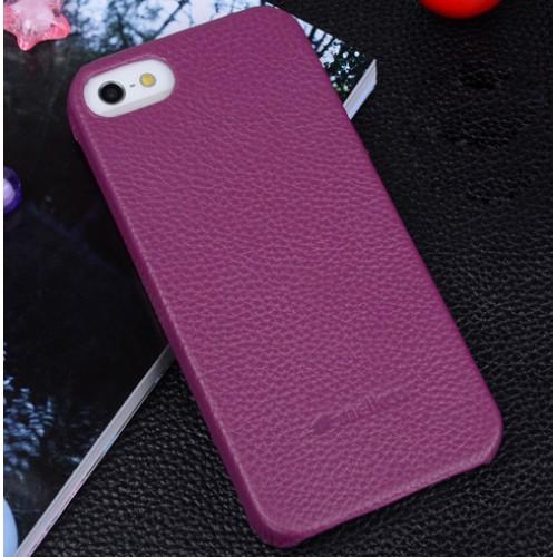Кожаный чехол накладка Back Cover для Apple Iphone 5/5s/SE