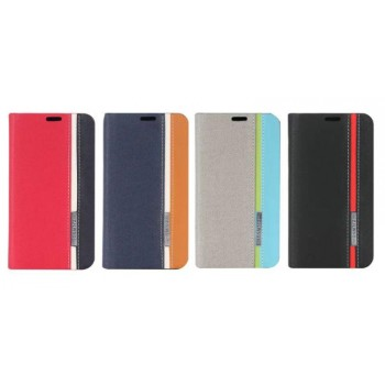 Текстурный чехол флип подставка для Nokia Lumia 630/635
