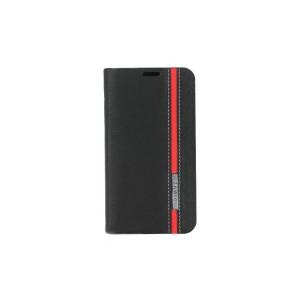 Текстурный чехол флип подставка для Nokia Lumia 630/635 Черный