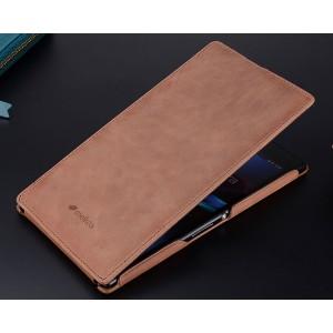 Кожаный чехол вертикальная книжка для Sony Xperia Z Ultra