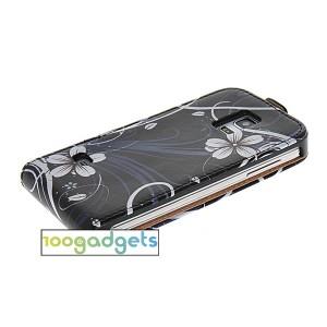 Текстурный чехол вертикальная книжка на пластиковой основе с магнитной застежкой для Samsung Galaxy S5 Mini