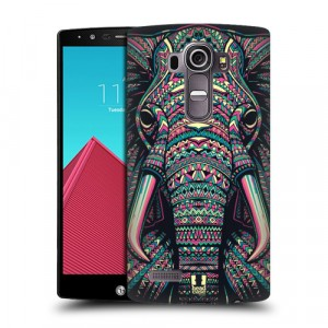 Пластиковый матовый дизайнерский чехол с эксклюзивной серией принтов с УФ-принтом для LG G4 (изготовление на заказ)