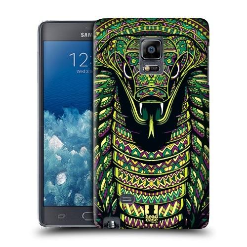 Пластиковый матовый дизайнерский чехол с эксклюзивной серией принтов для Samsung Galaxy Note Edge (изготовление на заказ)