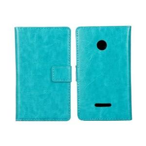 Чехол портмоне подставка с защелкой для Microsoft Lumia 435