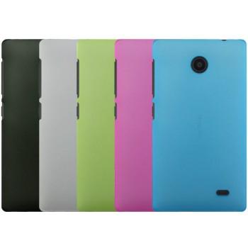 Пластиковый матовый полупрозрачный чехол для Nokia X