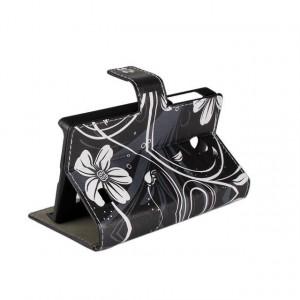 Дизайнерский чехол флип подставка с магнитной застежкой и полноповерхностным принтом для Nokia X