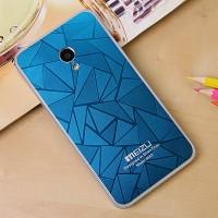 Дизайнерский узорный чехол для Meizu MX3 Синий