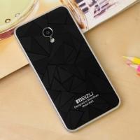 Дизайнерский узорный чехол для Meizu MX3 Черный