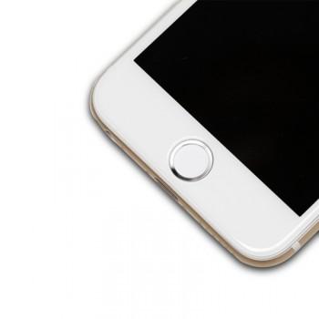 Защитная наклейка с металлическим кольцом для сенсора отпечатка пальцев для Iphone 6/6s/6 Plus/6s Plus/5s/SE