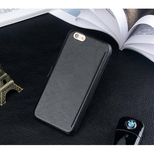 Кожаный чехол вертикальная книжка подставка для Iphone 6 Plus/6s Plus