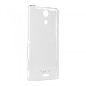 Пластиковый транспарентный чехол для Sony Xperia ZR