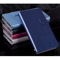 Текстурный чехол флип подставка на пластиковой основе для Sony Xperia ZR