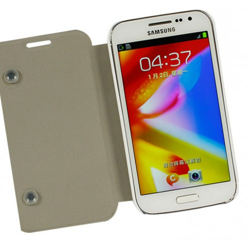 Чехол флип подставка с полноповерхностным принтом для Samsung Galaxy Win