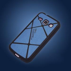Текстурный силиконовый матовый непрозрачный чехол для Samsung Galaxy Win