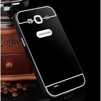Двухкомпонентный чехол с металлическим бампером и поликарбонатной накладкой для Samsung Galaxy Win