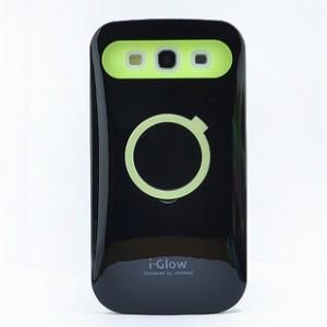 Силиконовый непрозрачный чехол со встроенной подставкой для Samsung Galaxy Win