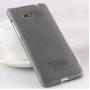 Силиконовый матовый полупрозрачный чехол для HTC Desire 600