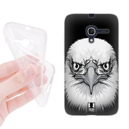 Силиконовый матовый дизайнерский чехол с эксклюзивной серией принтов для Alcatel One Touch Pop D3 (изготовление на заказ)