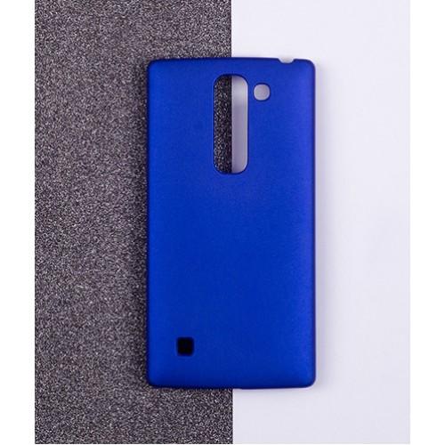 Пластиковый матовый непрозрачный чехол для LG Magna