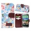 Дизайнерский чехол портмоне подставка с полноповерхностным принтом ля HTC One mini 2