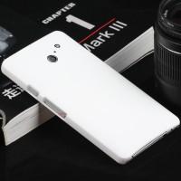 Пластиковый чехол серия Metallic для Huawei Ascend D2 Белый