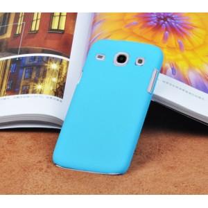 Пластиковый матовый непрозрачный чехол для Samsung Galaxy Core