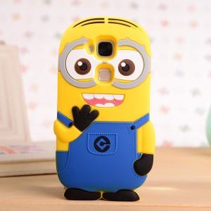 Силиконовый дизайнерский фигурный чехол  для Huawei G8