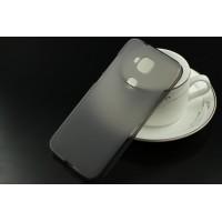 Силиконовый матовый полупрозрачный чехол для Huawei G8 Серый