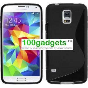 Силиконовый чехол S для Samsung Galaxy S5 Mini